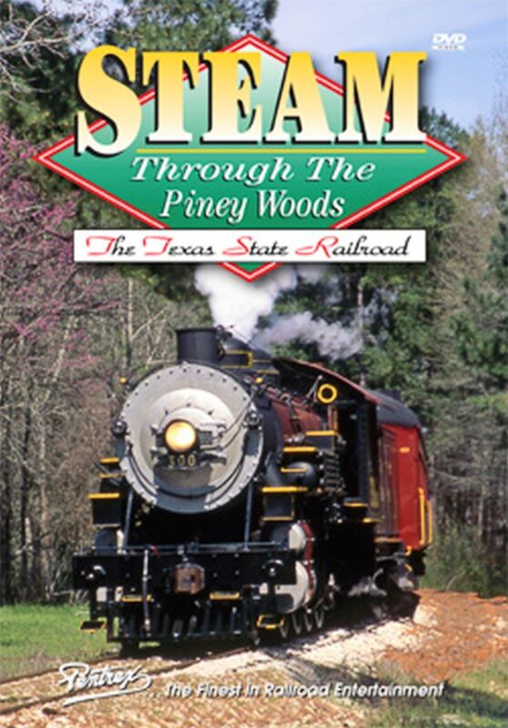 STEAM THROUGH THE PINEY WOODS PENTREX DVD NEW