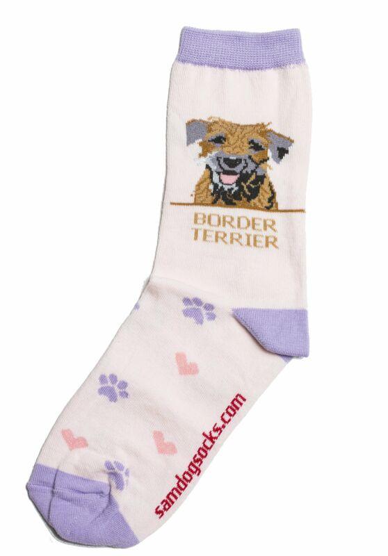 Border Terrier Dog Socks