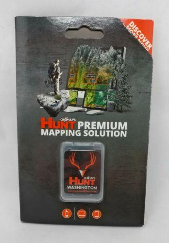 onXmaps HUNT GPS Chip for Garmin Units + 1-Year Premium Membership, Washington
