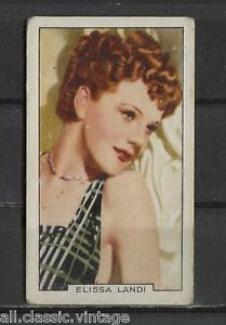 Elissa-Landi-Vintage-Movie-Film-Star-Trading-Card-1935-Gallaher-43