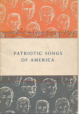 """Patriotic Songs of America"" published by John Hancock Mutual Life 1956"