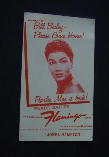 ~Rare~ Flamingo Las Vegas 1950