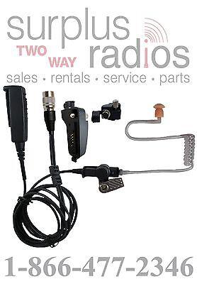 Quick Release 2 Wire Headset Kenwood Nx200 Nx300 Tk2180 Tk3180 Tk5210 Tk5410