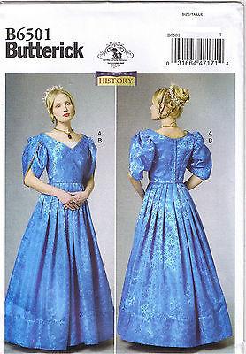Vtg 1800s 19. Jahrhundert Viktorianisch Kleid Chemmisette Nähmuster 6 8 10 12 14 19 Jahrhundert Kleider