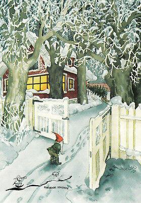 Kunstkarte: Inge Löök - Zwerg am Tor / Nr. 213