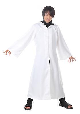 Naruto Shippuden Cosplay Costume Hidden Leaf Anbu Black Ops Cloak White - Naruto Black Ops Kostüm