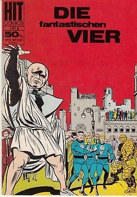 Hit Comics DIE FANTASTISCHEN VIER 8 (1) sehr guter ZUSTAND Bildschriften bsv (Fantastische Vier 8)