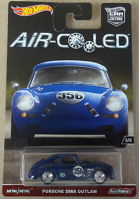 Hot Wheels Car Culture / Air Cooled - Porsche 356 356A Outlaw - Real Riders
