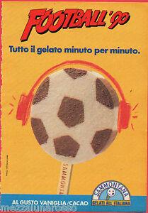 Pubblicita-Advertising-1990-SAMMONTANA-Football-039-90
