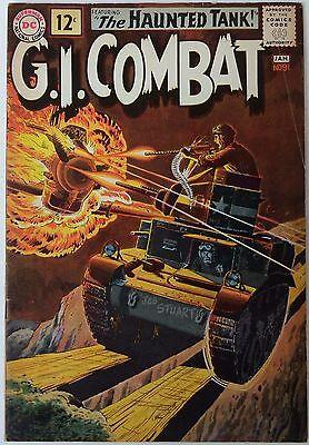 G.I. Combat #91 (Dec 1961-Jan 1962, DC), FN-VFN, 1st Haunted Tank cover