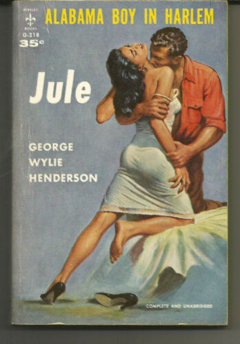 ORIGINAL VINTAGE 1959 BLACK LOVE - JULE - GEORGE WYLIE HENDERSON - BERKLEY G218