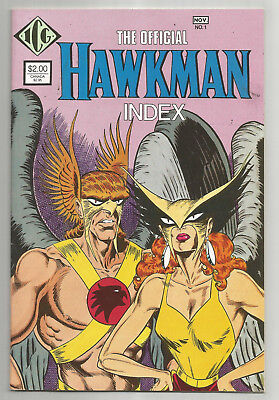 OFFICIAL HAWKMAN INDEX # 1 * 1986