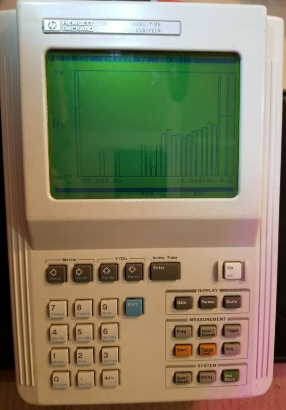 HP 3569A Real Time Frequency Analyzer 2 Chn.