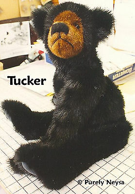 """Mohair or Plush  """"Tucker""""  a Bear PATTERN by Neysa A. Phillippi of Purely Neysa"""