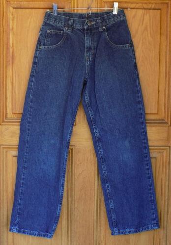 Lee Boys Size 12 R Straight Leg Blue Jeans