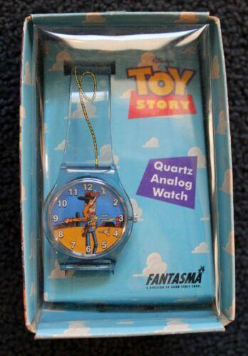 Toy Story 1995 Rare Fantasma Collector Woody Quartz Analog Watch!