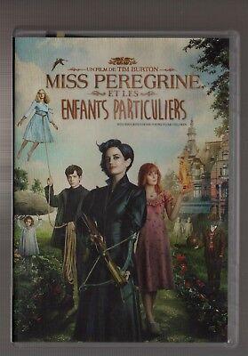 MISS PEREGRINE und die Kinder Personen Tim BURTON Eva grün DVD ZONE 2