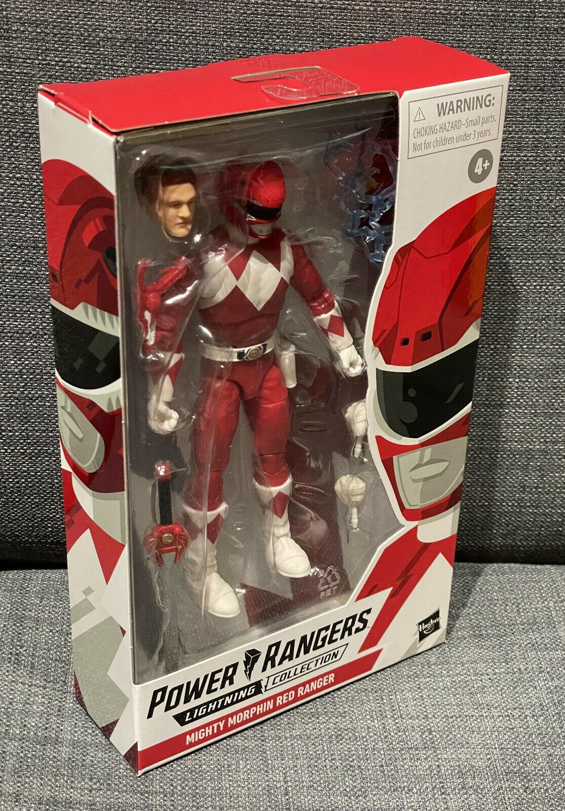 Power Rangers Mighty Morphin Red Ranger | Lightning Collection, Jason | NEU