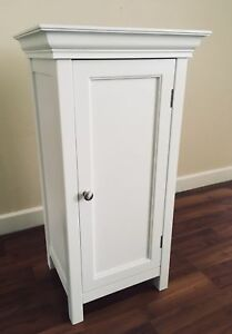 NEW WHITE DRAWER NIGHTSTAND TABLE