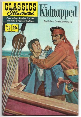 Classics Illustrated #46 (1970 – HRN 169) – Kidnapped – Stevenson – FN/VF