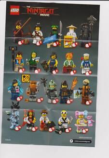 Lego Ninjago Minifigure Swap