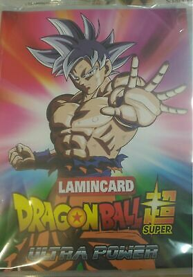 ALBUM Raccoglitore DRAGON BALL SUPER ULTRA POWER + Raccolta completa Lamincard ☻