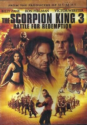 The Scorpion King 3: Battle for Redemption (DVD, 2012) BRAND