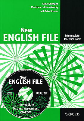 Oxford NEW ENGLISH FILE Intermediate Teacher's Book with CD-ROM @New@