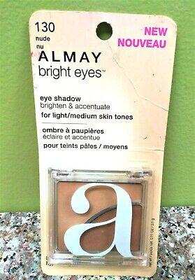 Almay Bright Eyes Eye Shadow # 130 Nude Light / Medium Skin Tones  Bright Eyes Light