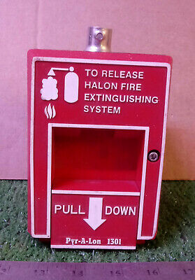 1 Used Pry-a-lon 1301 Release For Halon Fire Extinguishing System