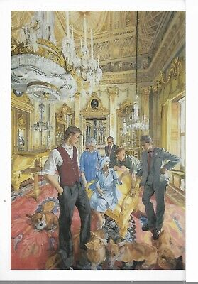 Royal Family Postcard: Painting From National Portrait Gallery 11cm X 16cm