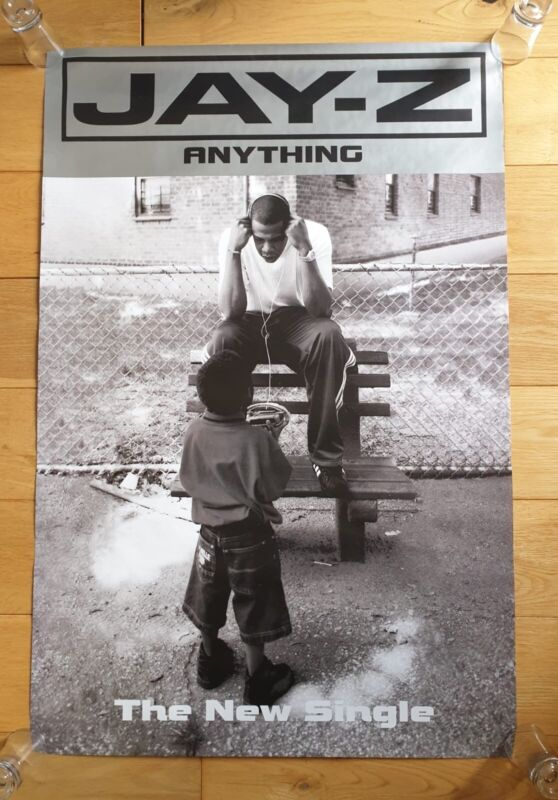 Jay-Z Anything Promotional Poster Ultra Rare