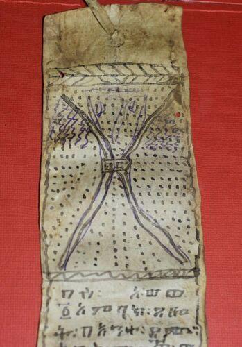 Antique Ethiopian Coptic Christian Ge