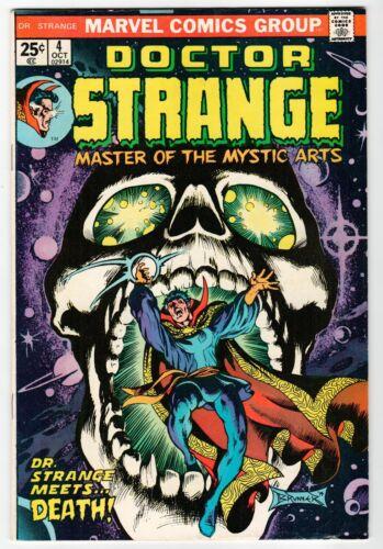 Marvel DOCTOR STRANGE #4 - VG Oct 1974 Vintage Comic