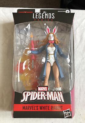 Marvel Legends 6 inch Action Figure Spider-man Marvel's White Rabbit