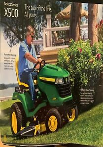 John Deere select series X500.