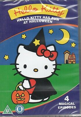 HELLO KITTY HAS FUN AT HALLOWEEN - 4 Magical Episodes - DVD *NEW* *FREE UK P&P*