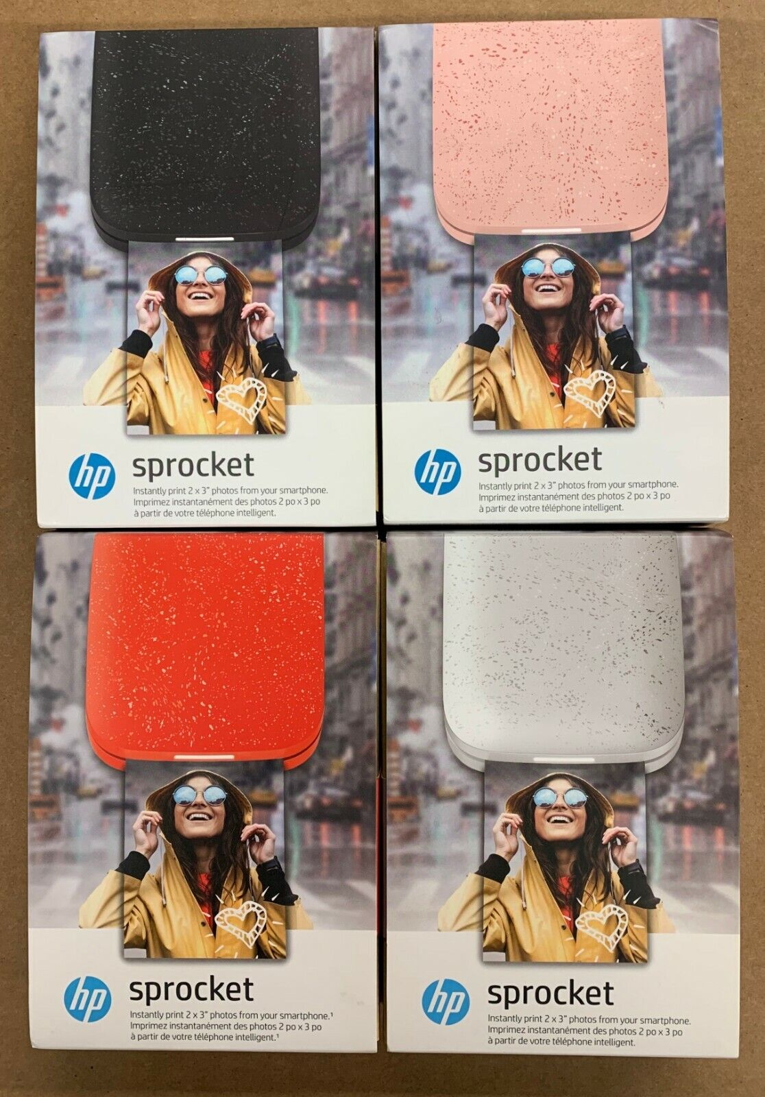 sprocket 2nd edition instant photo printer new