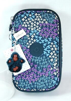 "NWT Kipling 50-PENS ""Dotted Bouquet"" AC8236 with ""Don"" Monkey King Ring"