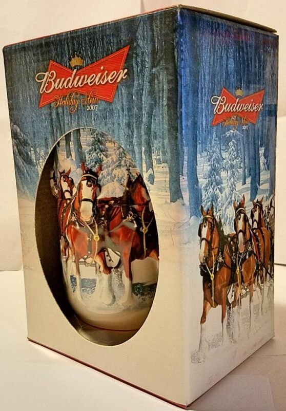 Budweiser 2007 Holiday Stein Mug  CS678
