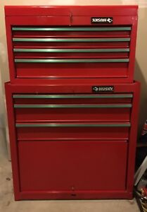 Husky Tool Chest- two pieces