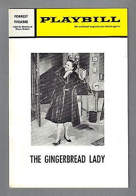 "Nancy Kelly ""GINGERBREAD LADY"" Neil Simon 1972 Philadelphia Playbill"