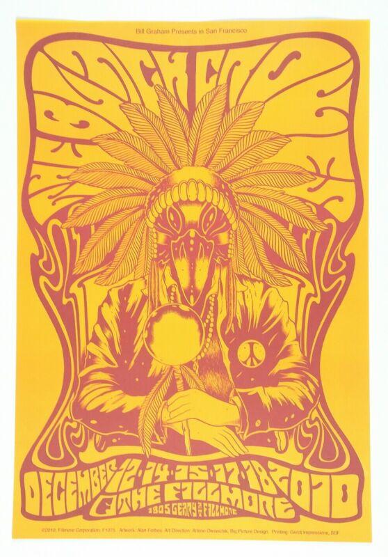 The Black Crowes original SF Fillmore poster.  2010 Tour