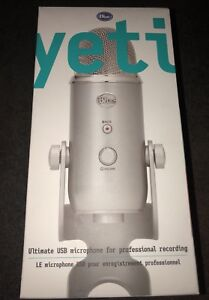 Blue Yeti Ultimate Microphone For Professional Recording/Gaming