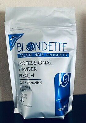 Blondette Professional Powder Bleach,Blue,Dust Free 16oz
