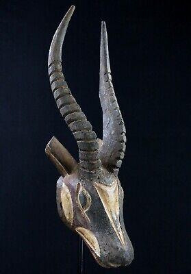 Art African Easter Kunst - Mask Pasport Antelope Gurunsi - 27 CMS