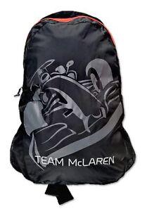 BAG Rucksack Members Lightweight Backpack Formula One 1 Team McLaren F1 NEW!