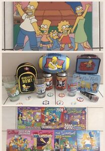 THE SIMPSONS COLLECTIBLES, CALENDARS & LAMINATED PICTURES