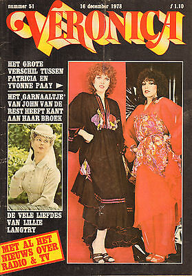 VERONICA 1978 nr. 51 - PATRICIA PAAY / GRACE KELLY / JIM HENSON / LILLY LANGTRY (Kelly Henson)