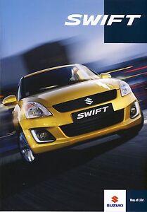 Suzuki Swift 2014 catalogue brochure tcheque Czech - <span itemprop='availableAtOrFrom'> Varsovie, Polska</span> - Suzuki Swift 2014 catalogue brochure tcheque Czech -  Varsovie, Polska